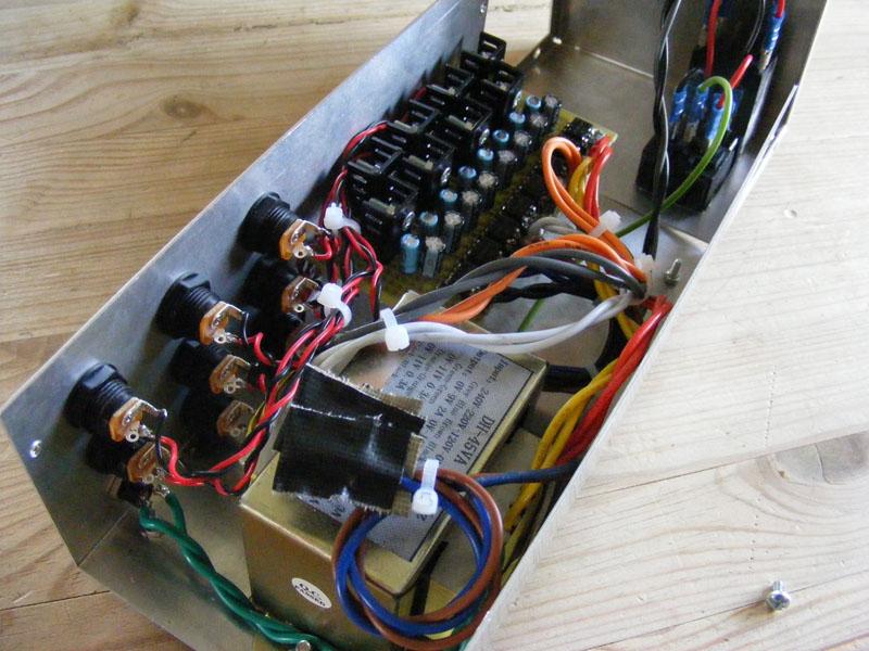 diy guitar pedal power supply kit. Black Bedroom Furniture Sets. Home Design Ideas