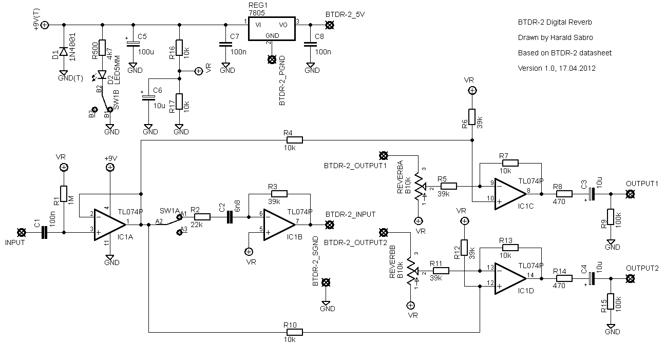 Revisiting Diy Reverb Schematics