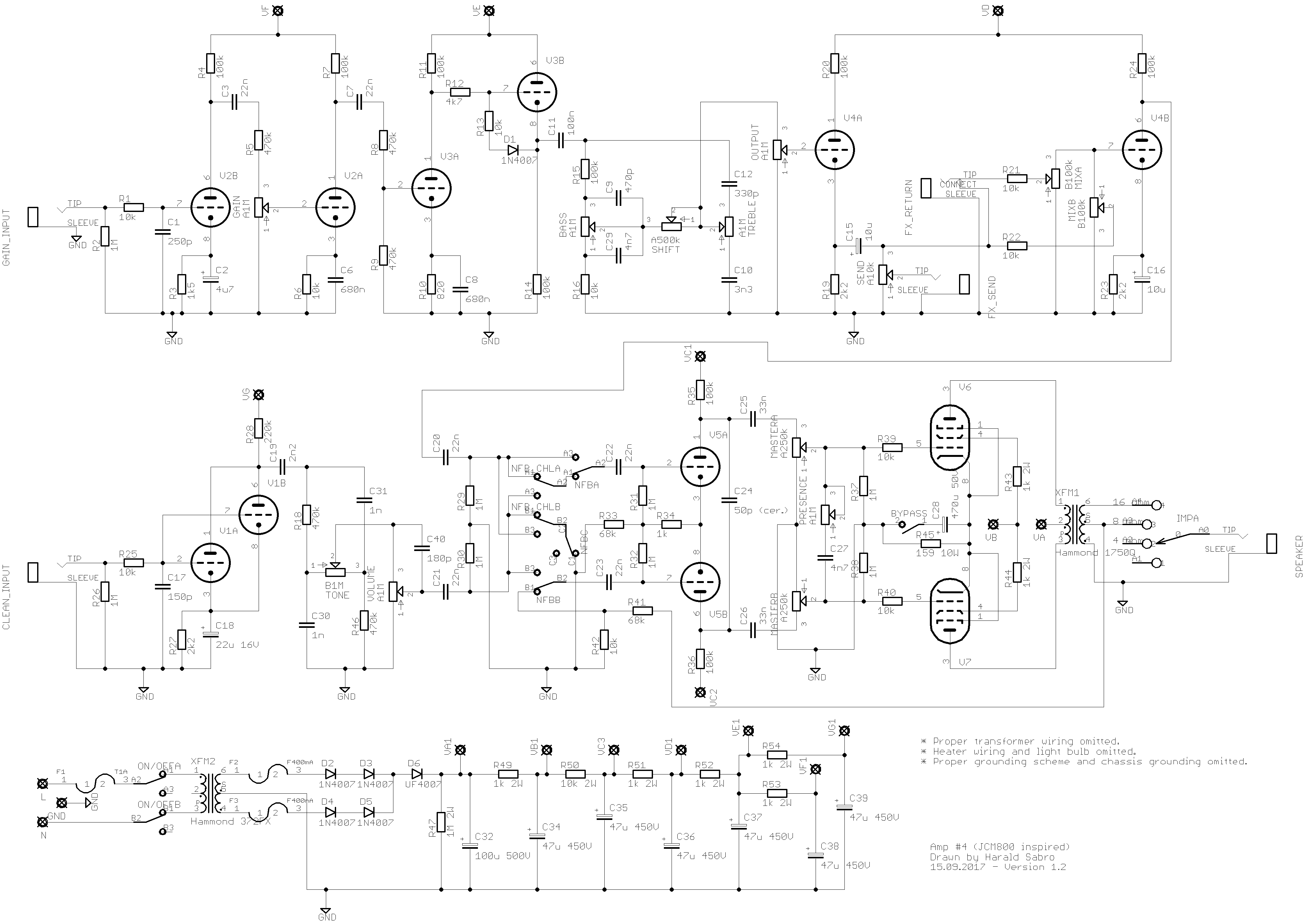 Sabrotone A Diy Guitar Electronics Diary Distortion Pedal Schematics Im Pretty Happy How It Ended Up Heres Quick Off The Top Of My Head Feature List